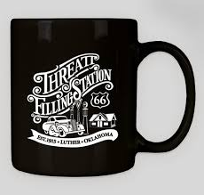 This listing may refer to the factory body style to designate usage. Threatt Filling Station Coffee Mug Custom Ink Fundraising