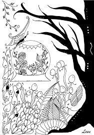 Free Coloring Page Coloring Spring Arrival