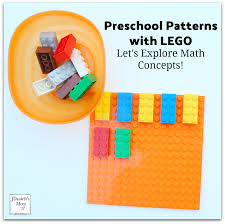 Patterns For Preschool Beauteous Let's Explore Math Concepts Preschool Patterns With LEGO