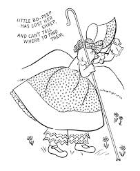 5d4cf45c83a658cee6070732f328ca72 little bo peep coloring books 160 best images about quiet book rhymes and songs on pinterest on nursery rhyme printable books