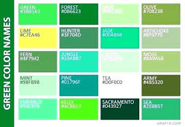 Teal Color Chart Readthisthing Co