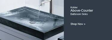 make a distinctive statement with kohleru0027s antilia glass countertop bathroom sink