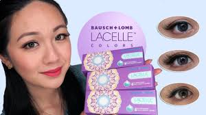 Bausch And Lomb Contact Lenses Color Chart Bausch Lomb Lacelle Colors Try On And Reviews