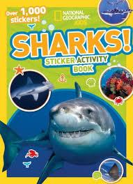 national geographic kids sharks sticker activity book over 1 000 stickers ng sticker activity books