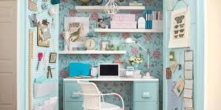 office in a closet. Office In A Closet