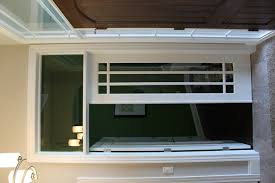 french door with window above pictures