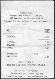 A Receipt Reclaiming 75p For A Receipt Less Crunchie The