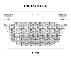 Barbican Seating Plan Londontheatre Co Uk