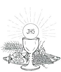 First Communion Coloring Pages First Communion Coloring Pages First