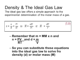 density equation ideal gas. 13 density \u0026 the ideal gas equation t