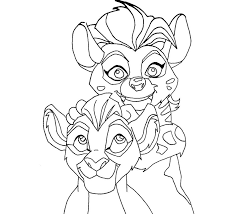 Small Picture Kion and Jasiri by zealousshadow on DeviantArt