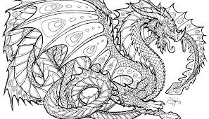 Picture Of A Dragon To Color