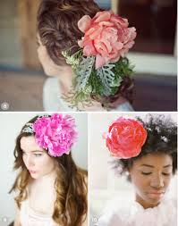 Flower Hair Style 50 romantic wedding hairstyles using flowers 1309 by wearticles.com
