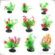 plastic aquarium water plants handmade diy artificial flower exquisite simulated aquatic fish tank decor 1 2zd ww birthday party supplies kids