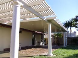 solid wood patio covers. Bination Solid And Open Lattice Alumawood Patio Cover Menifee Covers Wood