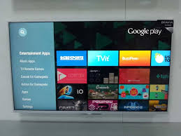 sony tv android. sony android tv searching on app categories t