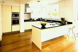 l shaped kitchen designs with breakfast bar brown varnished wood cabinet marble circle bubble mosaic tile