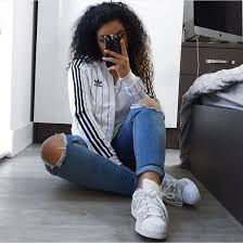 adidas girls. jacket white black adidas silver girl summer super stars and girls g
