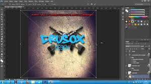Templates For Photoshop Cs6 Speedart Logo Photoshop Cs6 Templates Youtube