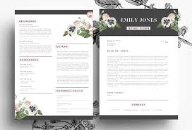 Creative resume by Emily's ART Boutique