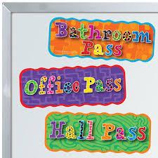 Magnetic Hall Pass Set