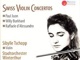 Swiss violinist Sibylle Tschopp, along with the Stadtorchester Winterthur under the direction of Nicholas Carthy, performs works of ... - musicimg20090204_10285444_2