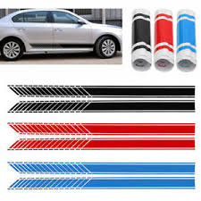 image is loading 2x 190cm car autos body racing stripe door