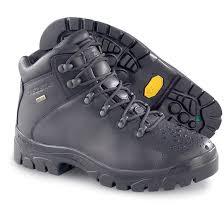 Mens Trezeta Gore Tex Hikers Black 97239 Hiking Boots