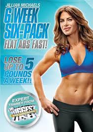 best workout dvds jillian michaels six week six pack by healthista