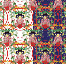 Textile Patterns Awesome SixtoJuan Zavala Floral Geometry Repeat Textile Patterns