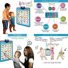 Electronic Interactive Alphabet Wall Chart Educational Toy