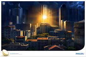 ogilvy new york office. Philips Print Ad - Sunrise At Night Ogilvy New York Office
