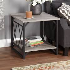 Industrial Looking Coffee Tables Affordable End Tables Affordable Divine Inch Round End Table