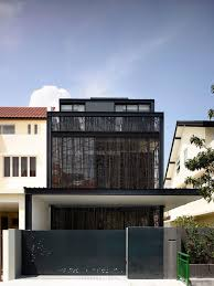Small Picture House Tour Bold black design for this semi detached house in