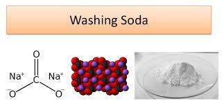 washing soda ion properties