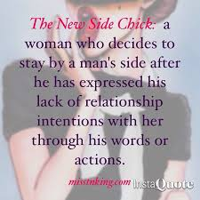 Side Chick Quotes Impressive A Cougar Or A Side Chick Cloudsofthought