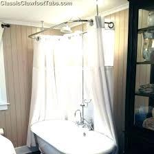 clawfoot tub shower riser bathtub shower curtain shower curtain rod for bathtub shower curtain rod for clawfoot tub shower riser