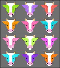 Cows Quilt Pattern PDF Instant Download farm animal cow & Cows Quilt Pattern, PDF, Instant Download, farm animal, cow, bull, modern  patchwork Adamdwight.com