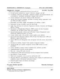 Resume Samples Zip