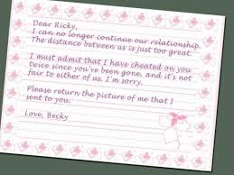 Sava S Place The Break Up Letter