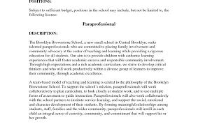 Paraprofessional Tutor Cover Letter Education Essays Topics