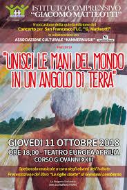 Al Teatro Europa di Aprilia lo spettacolo musicale dell'Istituto Matteotti  dedicato a San Francesco. - Radio Studio 93 - Solo Belle Canzoni
