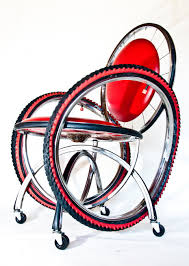 Bicycle Furniture Recycled Bike Furniture By Andy Gregg Design With A Purpose