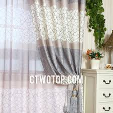 Gray and beige curtains Linen Ctwotopcom Beige And Gray Unusual Patterned Designer Unique Curtains And Drapes