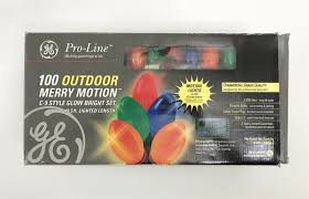 Ge We Bring Good Things To Light New Ge Pro Line Commercial Grade 100 Outdoor Lights Merry Motion C 9 49 5ft