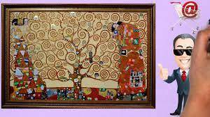 gustav klimt the tree of life art reion art on canvas oil painting gfmpainting co uk