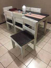 pallet furniture for sale. Pallet Furniture For Sale - Dining Table And Chairs M