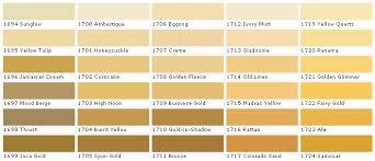 Beige Color Chart Pratt And Lambert Paints Calibrated Colors House Paint