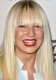 sia swing from the chandelier later singer writer has had her first number one al in