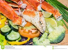 King Crab Salad stock image. Image of ...
